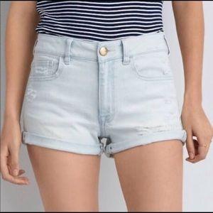 American Eagle AEO Hi-Rise Jean Shorts
